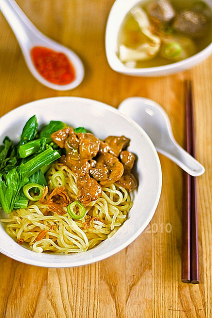 Mie Ayam Jamur (Indonesian Chicken Mushroom Noodle) Recipe ..