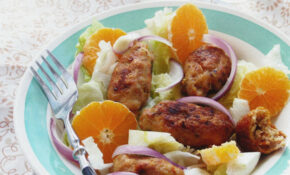 Minced Meat Rolls Salad – Middle Eastern Recipes Chicken