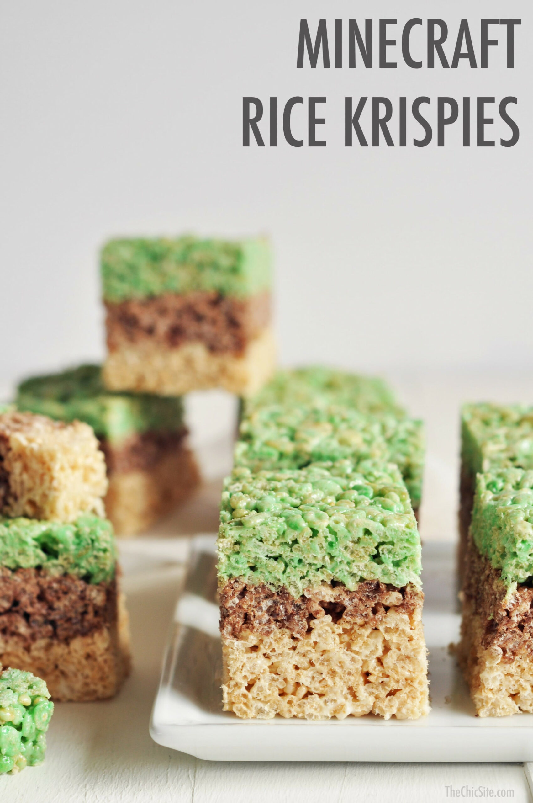 Minecraft Desserts | POPSUGAR Family - Recipes Minecraft Food