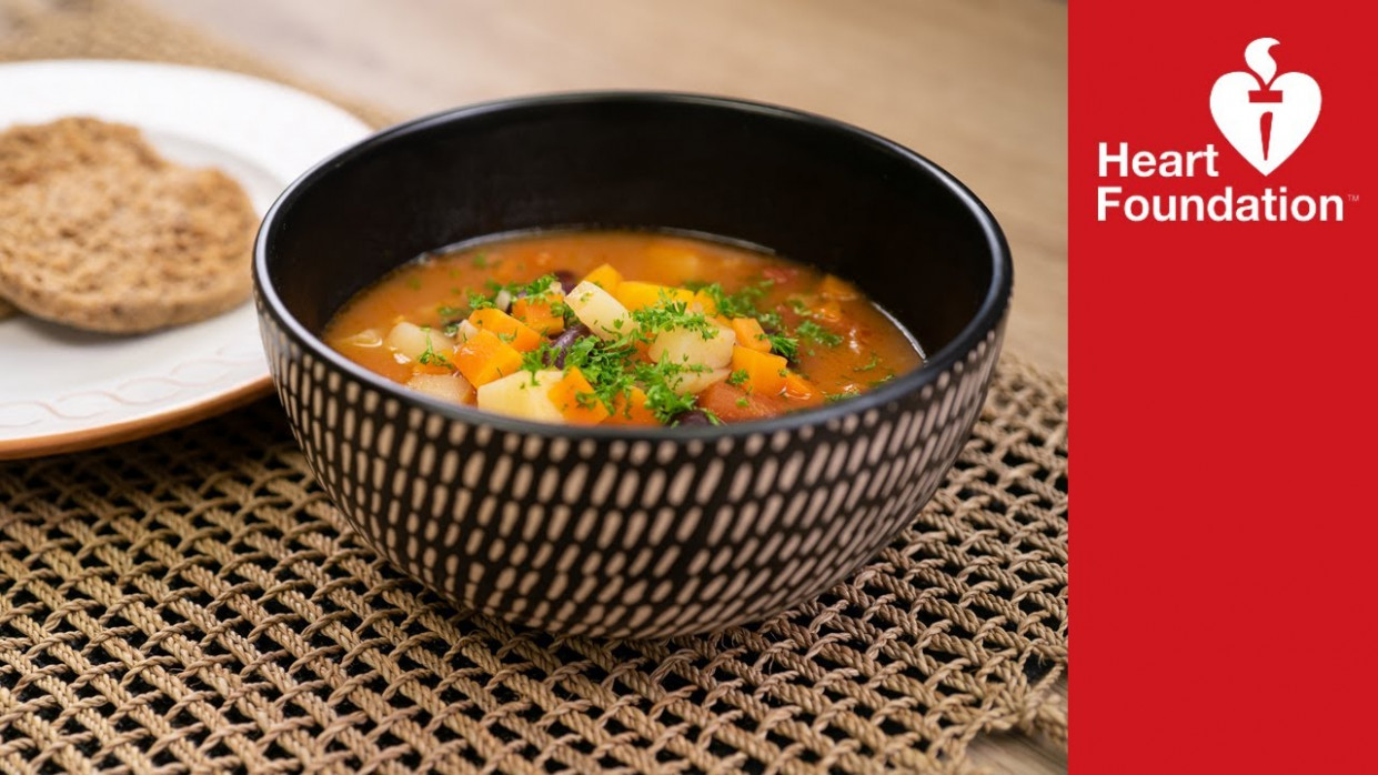 Minestrone Soup Recipe | Healthy Meals & Recipes | Heart Foundation NZ - Food Recipes Nz