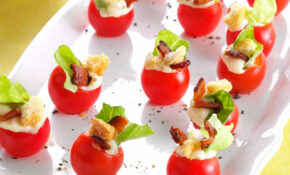 Mini BLT Appetizers | Taste Of Home – Recipes For Finger Food