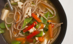 Miso Noodle Soup – Cookie And Kate – Avocado Recipes Vegetarian
