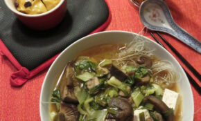 Miso Soup And Baked Apple W/recipe – Recipes Vegetarian Noodles