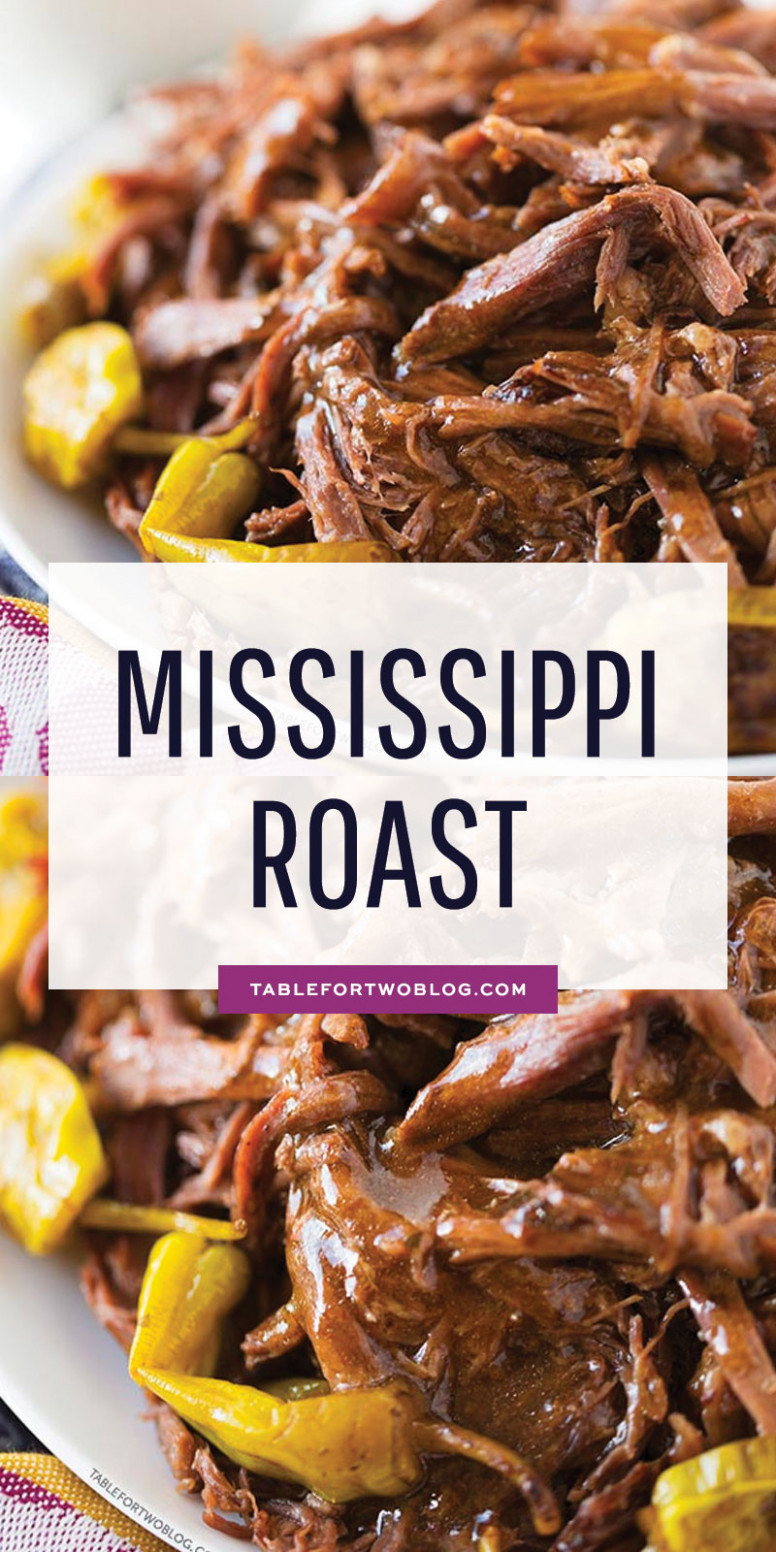 Mississippi Roast - Five Ingredient Roast Recipe for Slow ..