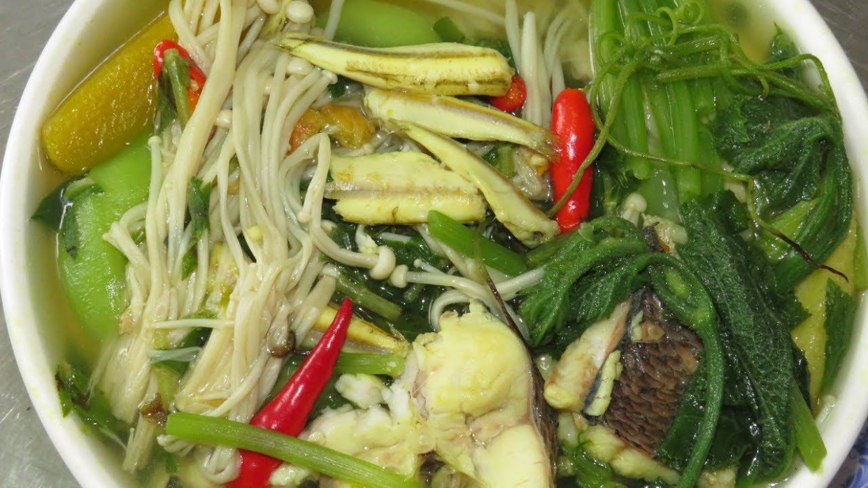 Mix Vegetable Soup Recipe Cambodian Style - How To Cook ..