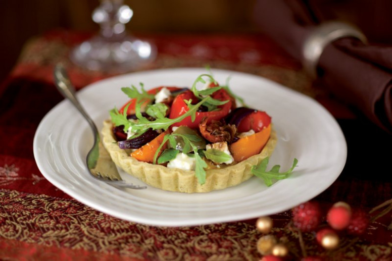 Mixed pepper and feta tarts - Main course - Vegetarian ..