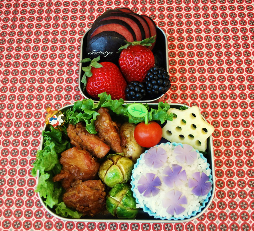 Mochiko Chicken Bento - chicken recipes for kids