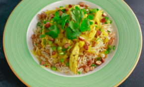 Mom's Chicken Curry And Buttery Rice Pilaf – Rachael Ray – Rachael Ray Recipes Chicken