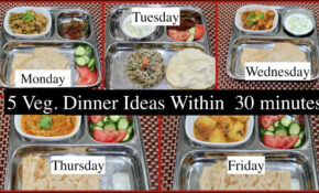 Monday  Friday 15 Minutes Indian Dinner Recipes | Quick Dinner Ideas |  Simple Living Wise Thinking – Food Recipes Quick Simple