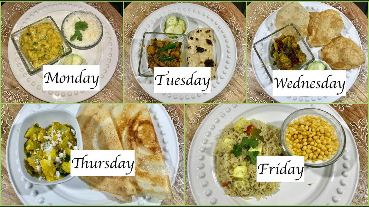 Monday To Friday Indian Summer Dinner Recipes | Quick Dinner Ideas | Simple  Living Wise Thinking - dinner recipes hindi