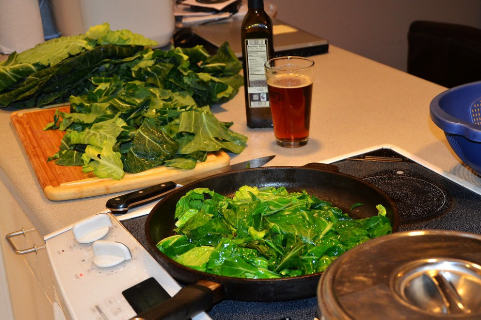 Monica's Collard Greens recipe