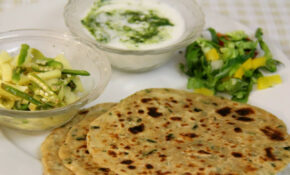 Mooli Paratha Recipe  Indian Vegetarian Dinner & Lunch ..