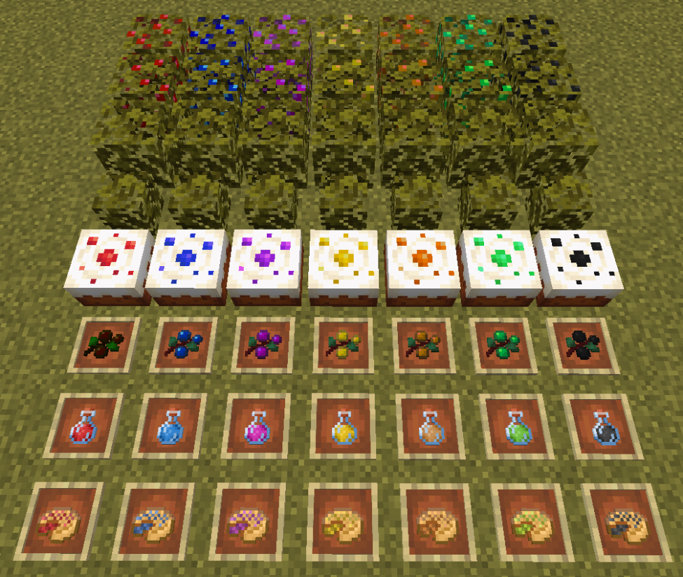 More Berries - Mods - Minecraft - CurseForge - recipes minecraft food