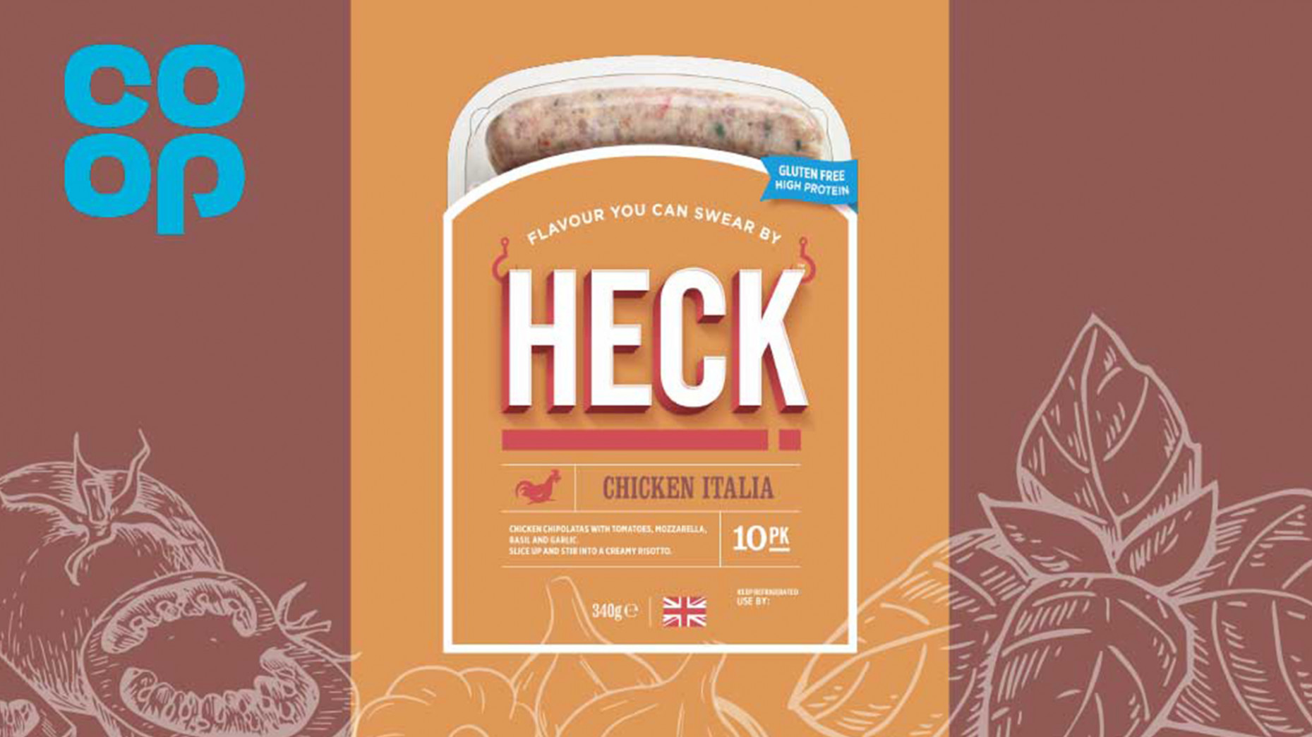 More Chicken Italia Chipolatas in Even More Co-Op Stores! - recipes heck chicken sausages