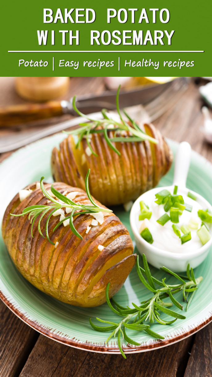 More Than Lifestyle:Baked Potato With Rosemary - More Than ..