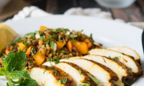 Moroccan Chicken Breast Recipe With Quinoa Salad – Recipes For Healthy Chicken Breast