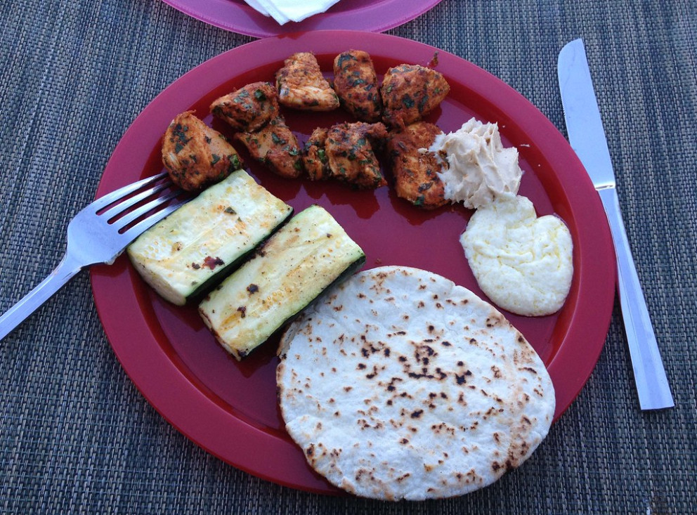 Moroccan Chicken Brochettes From Bon Appetit - Moroccan Food Recipes