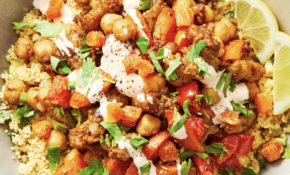 Moroccan Chicken Sausage Tagine With Dried Apricots And Chickpeas Over  Couscous – Recipes Moroccan Chicken