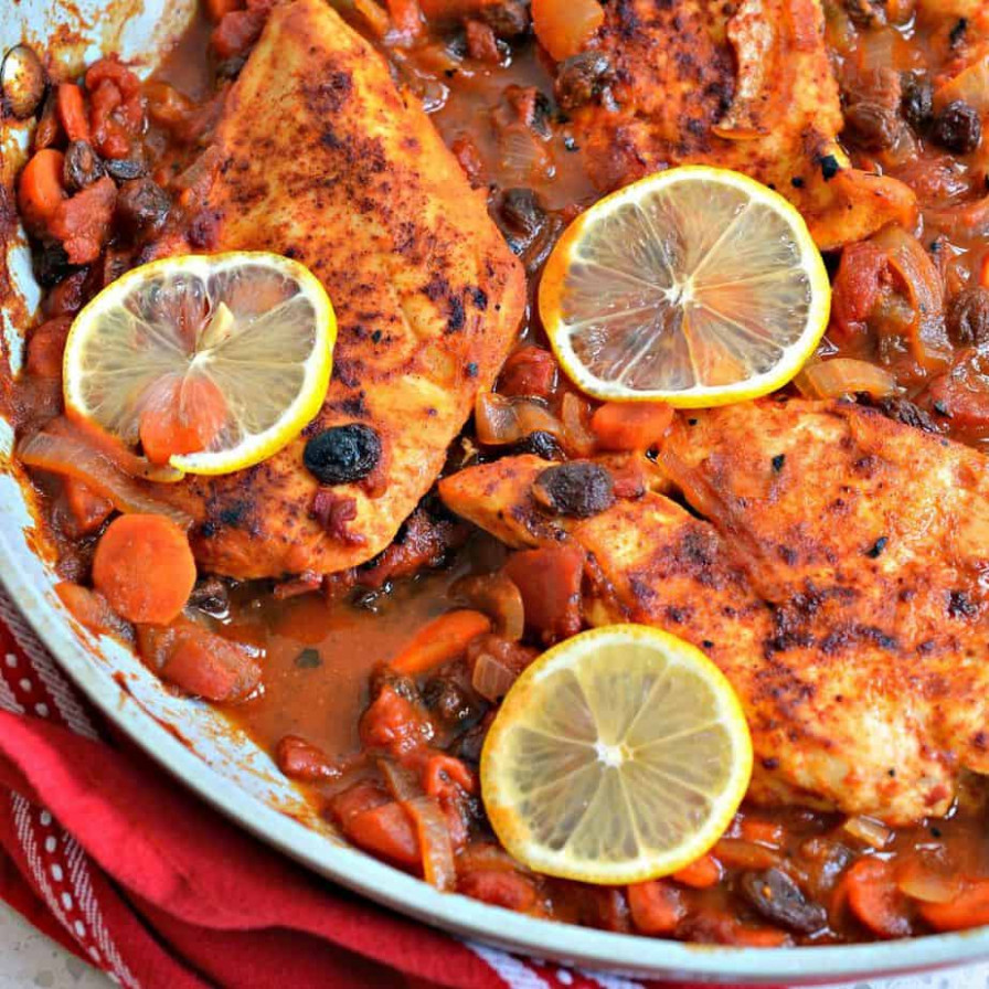 Moroccan Chicken | Small Town Woman - moroccan recipes chicken