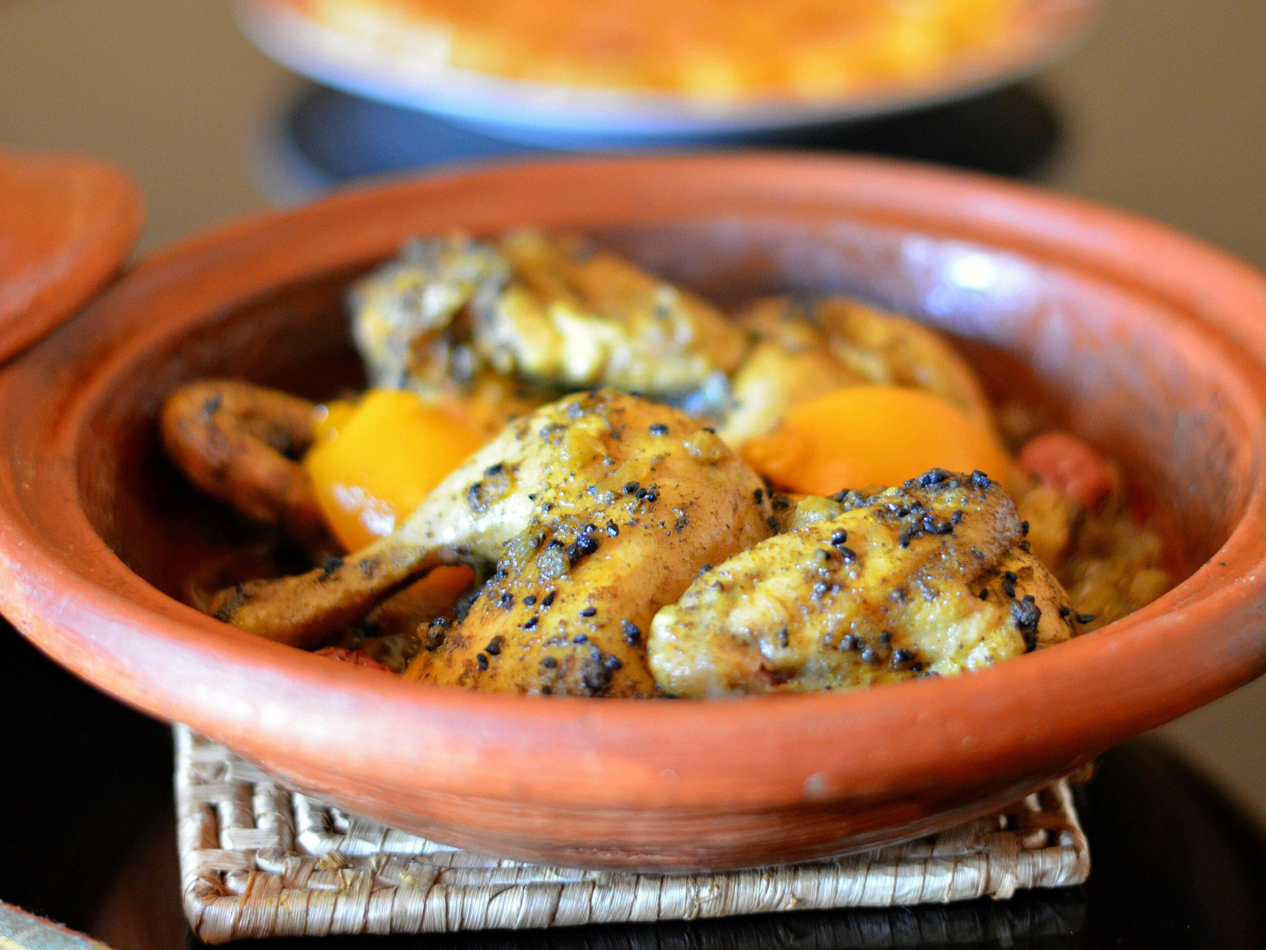 Moroccan Chicken Tagine With Nigella Seeds (Black Seeds or Sanouj) - dinner recipes nigella