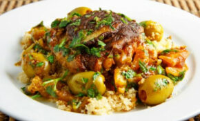 Moroccan Chicken Tagine with Olives and Preserved Lemons ...