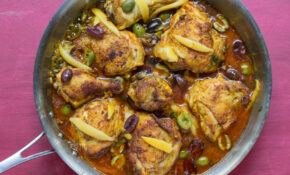 Moroccan Chicken With Preserved Lemons & Olives – Moroccan Recipes Chicken