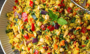 Moroccan Couscous Recipe (with Roasted Veggies) – Cooking Classy – Couscous Recipes Vegetarian