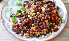 Moroccan Kidney Bean & Chickpea Salad Recipe – EatingWell – Recipes Kidney Beans Vegetarian