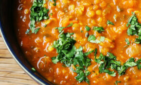 Moroccan Red Lentil Soup. High In Protein And So Flavorful ..