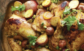 Moroccan Roasted Chicken Recipe | Epicurious