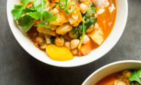 Moroccan Spiced Sweet Potato And Chickpea Stew – Moroccan Recipes Vegetarian