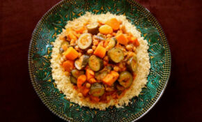 Moroccan-Style Vegetable Couscous - Vegetarian Recipe