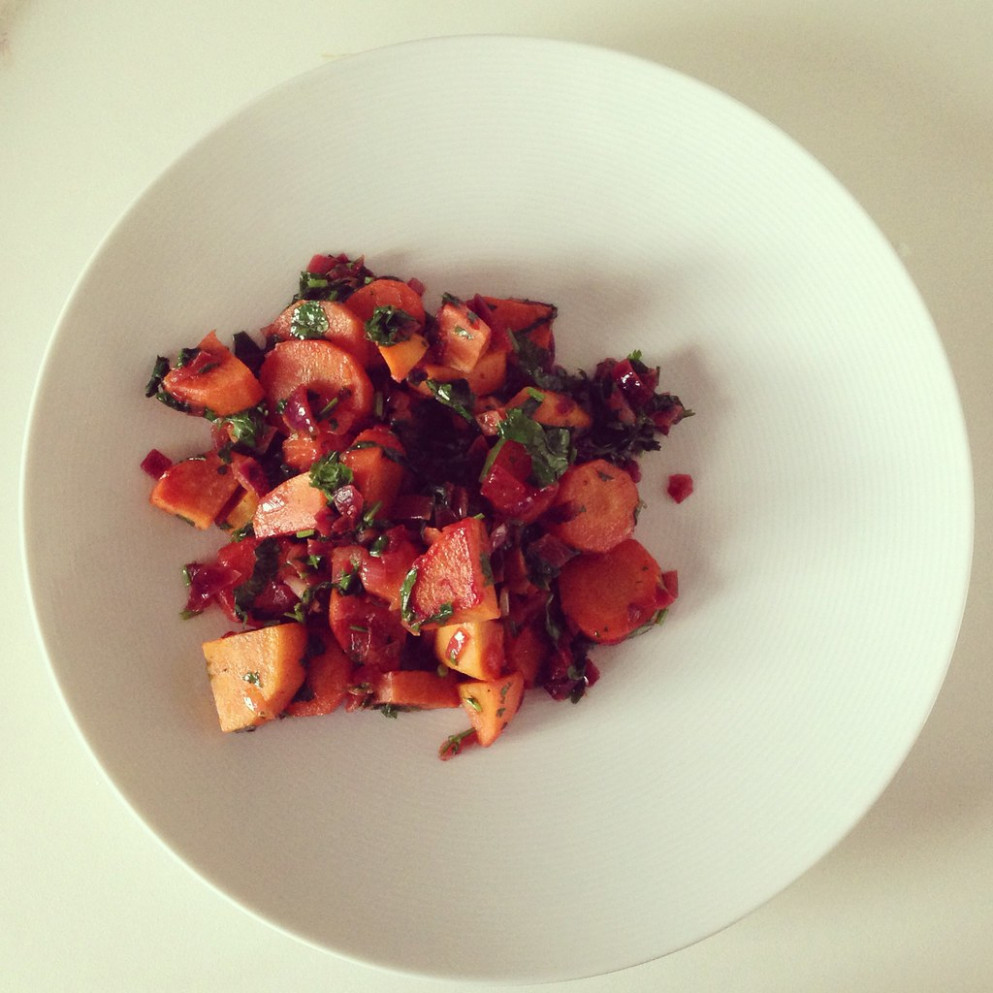 Moroccan sweet potato salad - recipes simple dinner