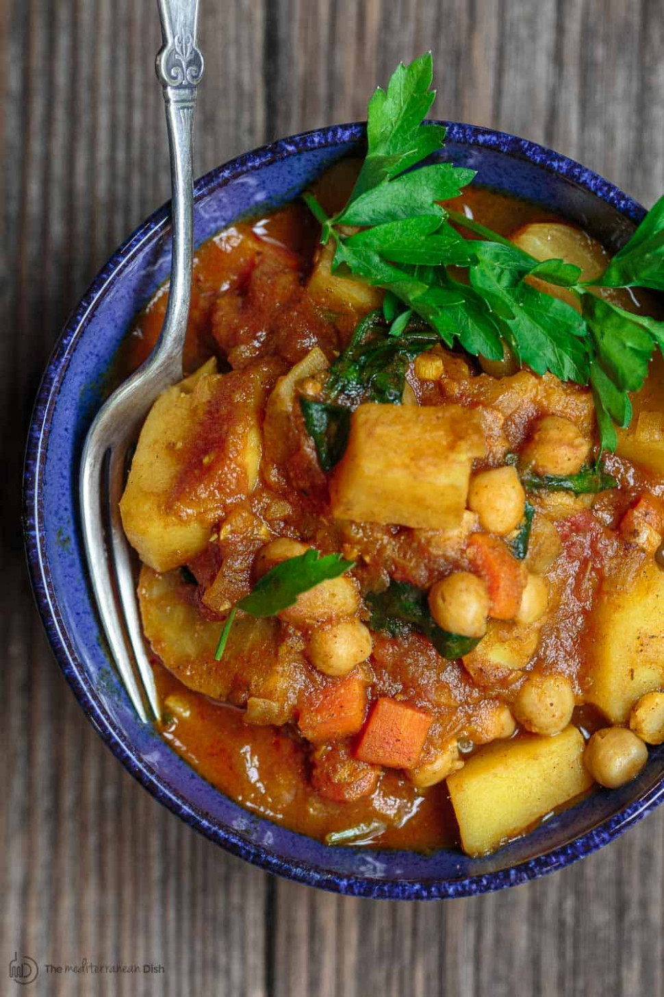 Moroccan Vegetable Tagine Recipe - food recipes vegetarian