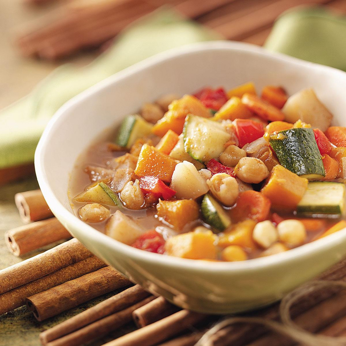 Moroccan Vegetarian Stew - recipes for vegetarian soup