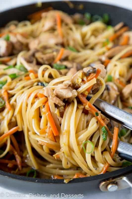 Most Amazing Chicken Recipes - The Best Blog Recipes - lo mein recipes chicken