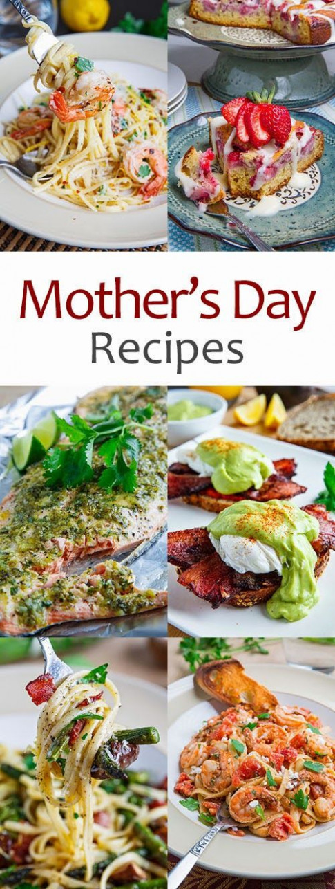 Mother's Day Recipes | Yummies | Food recipes, Dinner ..