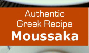 Moussaka – Greek Recipes Vegetarian