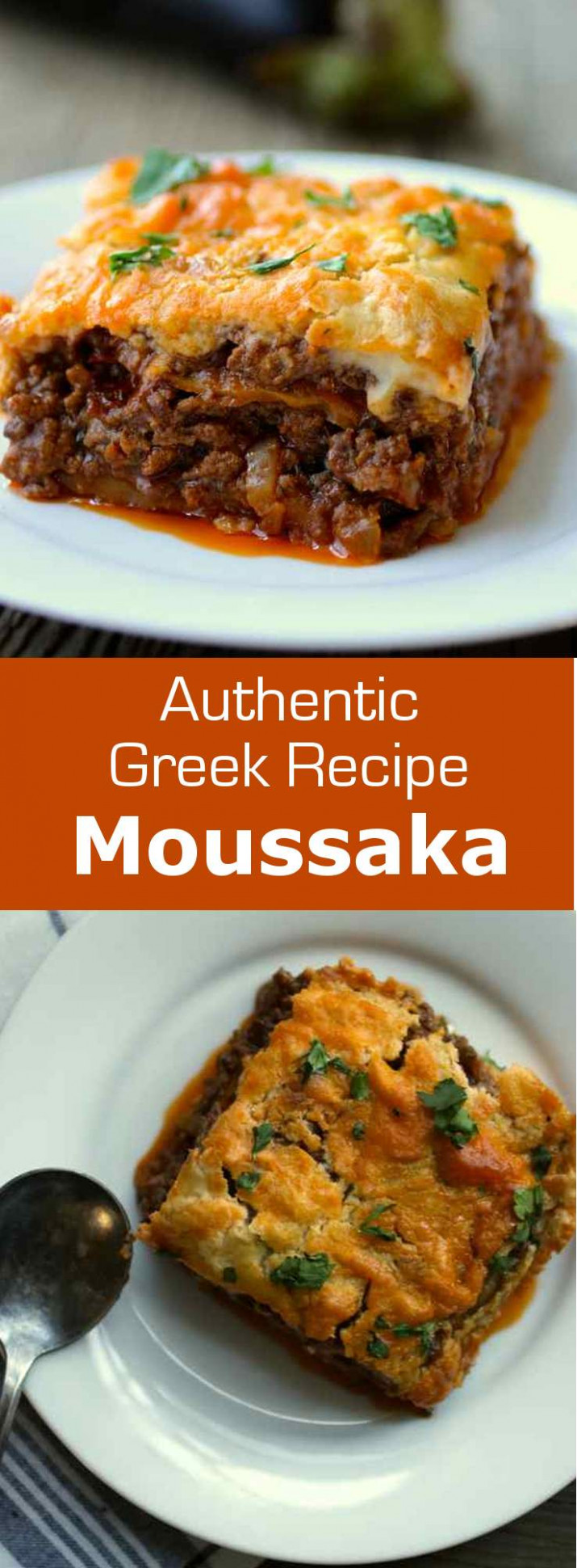 Moussaka - greek recipes vegetarian