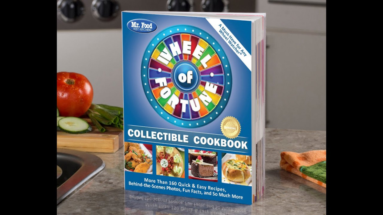 Mr. Food Test Kitchen Wheel of Fortune Collectible Cookbook ..