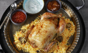 Mushroom Biryani Stuffed Chicken Recipe – Chicken Recipes Knorr