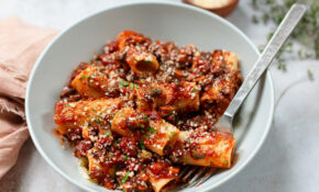 Mushroom Bolognese Pasta | Familystyle Food – Umami Paste Recipes Chicken