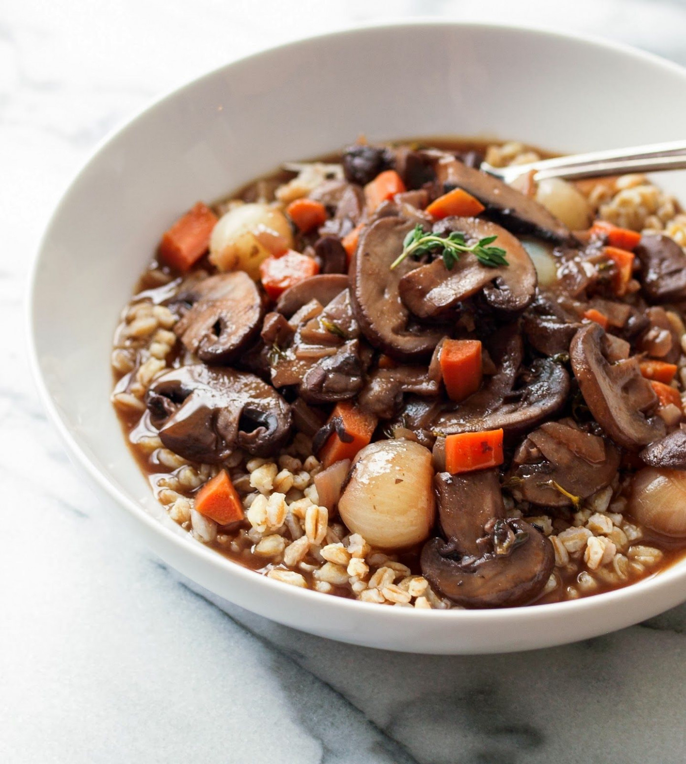 Mushroom Bourguignon... If you love mushrooms and cooking ..