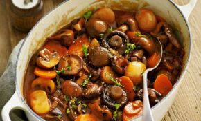 Mushroom Bourguignon – Tesco Recipes Vegetarian