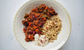 MUSHROOM CHILLI – Recipes Using Vegetarian Mince