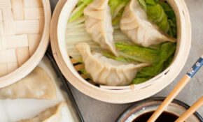 Mushroom Leek Chinese Dumplings – Recipe Vegetarian Dumplings