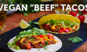 MUSHROOM MINCE TACOS | BOSH! | VEGAN – Recipes With Vegetarian Mince
