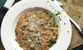 Mushroom Risotto Recipe – Healthy Risotto Recipes