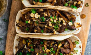 Mushroom Tacos | The BEST Vegetarian Taco Recipe – Recipes To Transition To Vegetarian