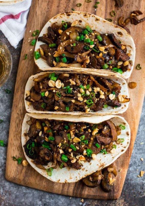 Mushroom Tacos | The BEST Vegetarian Taco Recipe - Recipes To Transition To Vegetarian